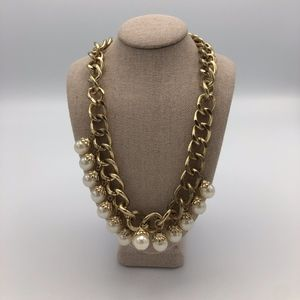 Francesca's Faux Pearl Statement Necklace